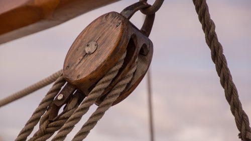 Reeving a Block - Crawford Nautical